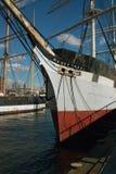 Il Wavertree al porto marittimo del sud della via, New York. Immagini Stock Libere da Diritti
