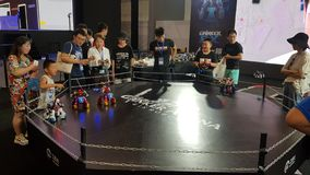 The eSport Gaming Olympic Game event `World Cyber Games` WCG 2019 in Xi`an, China.