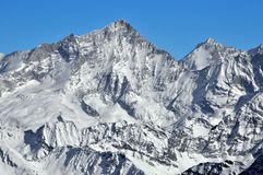 Il Weisshorn Immagine Stock