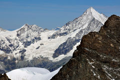 Il Weisshorn Immagini Stock