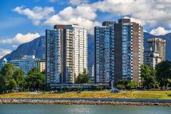 Il West End di Vancouver immagini stock