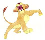 Il whelp del leone Fotografia Stock