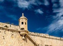 Il, wieża obserwacyjna Malta Zdjęcia Royalty Free