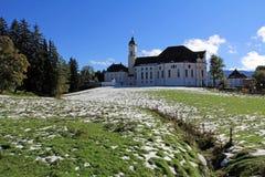 Il Wieskirche famoso fotografie stock