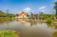 Il Wihan a Wat Phumin, Nan, città antica, Samut Prakan, Tailandia Fotografia Stock