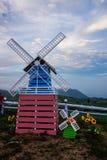 Il windturbine fotografia stock