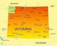 Il Wyoming Fotografie Stock