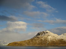Il y avait terre en Antarctique Image libre de droits