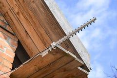 Il Yagi 3g dell'antenna Fotografia Stock Libera da Diritti