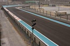 Il Yas Marina Circuit Fotografia Stock