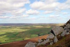 Il Yorkshire del nord attracca Fotografie Stock Libere da Diritti