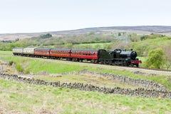 Il Yorkshire del nord attracca la ferrovia Fotografie Stock Libere da Diritti