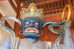 IL YUNNAN, CINA - 20 MARZO 2015: Tempio di Xingjiao a Shaxi vi antico Fotografia Stock