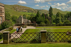 Ilam Hall Garden Stock Photo