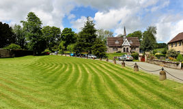 Ilam Village in Sffordshire Stock Image