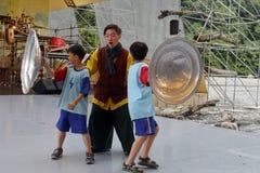 ilan绿色商展,台湾环境题材戏曲  库存照片