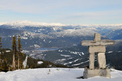 Ilanaaq, Whistler Mountain Royalty Free Stock Images