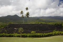 ilanihale pi heiau Гавайских островов Стоковое Изображение RF
