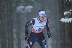 Ilaria Debertolis - Cross Country-Skifahren Stockfotos
