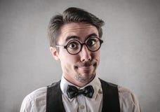 Ilarious-Mann Lizenzfreies Stockfoto