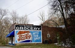 Ilasco Grocery Store/Tavern royalty free stock photography