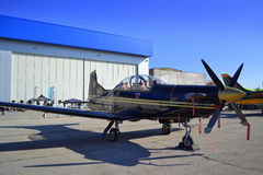 Рilatus PC-9M aircraft Royalty Free Stock Photo