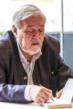 Ilber Ortayli - türkischer Historiker lizenzfreie stockfotografie