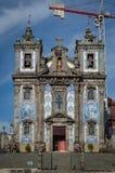 Ildefonso Saint Church in Porto stockfoto