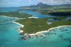 Ile aux Cerf Mauritius zdjęcia stock