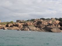 The Ile aux Oiseaux - France. The Ile aux Oiseaux is a small island of the Gulf of Morbihan belonging to the state. She is managed by the Conservatoire du Stock Photography