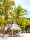 Ile Cerfs Aux wyspy turystyczny kurort Obrazy Royalty Free