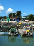 Ile d'Oléron Harbour Royalty Free Stock Photography