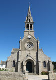 Ile De Batz Church Royalty Free Stock Photography