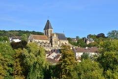 Ile de France, γραφική πόλη του Triel-sur-Seine Στοκ φωτογραφίες με δικαίωμα ελεύθερης χρήσης