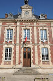 Ile de France, the city of Gasny Stock Images