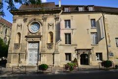 Ile de france, the city of Mantes la Jolie Stock Image