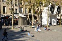 Ile de France, die malerische Stadt von Paris Lizenzfreie Stockfotografie