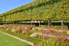 Ile de France, the garden of Petit Trianon in Versailles Palace Royalty Free Stock Photos