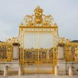 Ile de France guld- port av den Versailles slotten Royaltyfri Foto