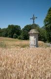 Ile de France, het schilderachtige dorp van Nucourt Royalty-vrije Stock Afbeeldingen