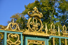 Ile de France, the historical Versailles Palace Stock Images