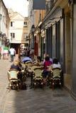 Ile de France, malerische Stadt von Versailles Stockfotos