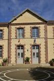 Ile De France malownicza wioska Orphin Fotografia Royalty Free