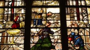 Ile de France, picturesque church of  Montfort l amaury Stock Photo