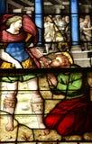 Ile de France, picturesque church of  Montfort l amaury Royalty Free Stock Photo