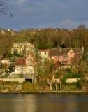 Ile de France, the picturesque city of Triel sur Seine Royalty Free Stock Image