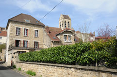 Ile de France, the picturesque village of Auvers sur Oise Stock Photos