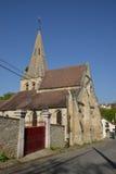 Ile de France, picturesque village of gaillon sur montcient Stock Photography