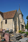 Ile de France, the picturesque village of Goupillieres  Stock Photos