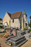 Ile de France, the picturesque village of Goupillieres Royalty Free Stock Images